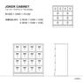 JOKER CABINET ドロワタイプ(103468) 4