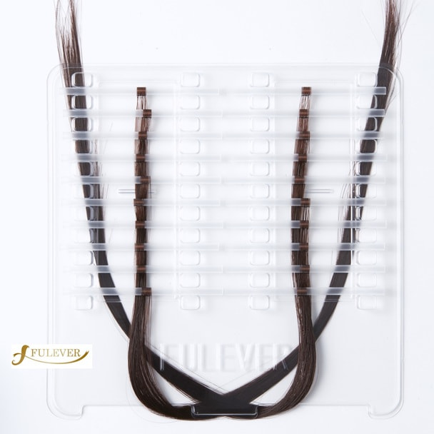【FULEVER】Classy ダークブラウン (4本毛×1200本) 4# 1