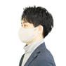 接触冷感マスク 5枚セット(薄手/大きめタイプ)【グレー】 2