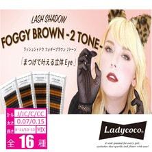 【LADYCOCO】LASH SHADOW [FOGGY BROWN]