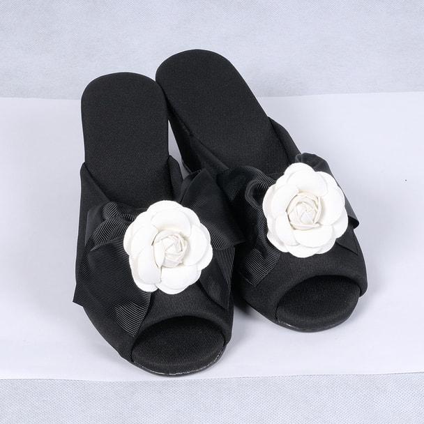 ヒールスリッパ ホワイトカメリアTO-306 1