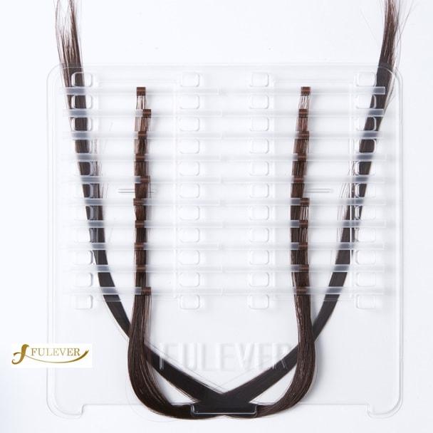 【FULEVER】Classy ダークブラウン (2本毛×1200本) 4# 1