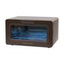 殺菌灯紫外線消毒器 ARCUS ダークブラウン(PHILIPS製UVライト採用/デジタルタイマー付) 10