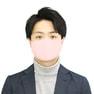接触冷感マスク 5枚セット(薄手/大きめタイプ)【ピンク】 3