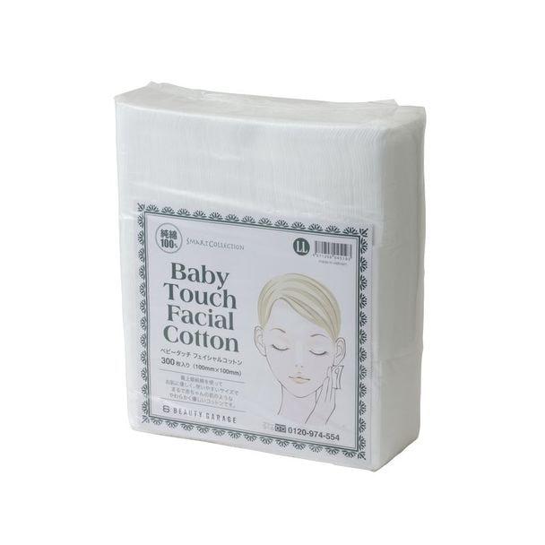 Baby Touch フェイシャルコットン LLサイズ(100×100mm/300枚入り) 1