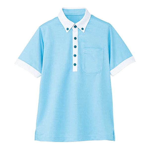 半袖ポロシャツ HM2679(L)(空) 1