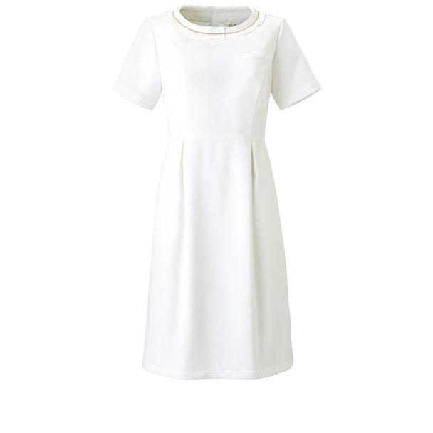 ワンピースCL-0180(13号)(ホワイト) 1