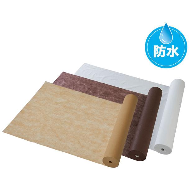 使い捨て防水ベッドシーツ SP 幅80cm×90M(選べる3色)
