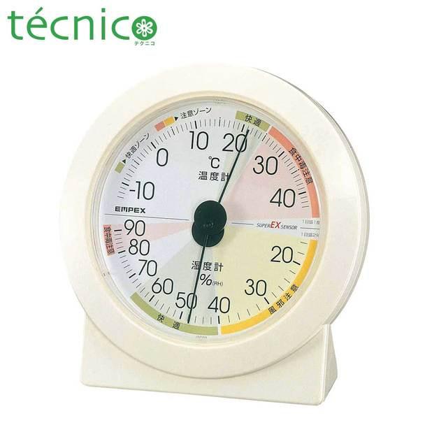 【テクニコ】《日本製》高精度 温・湿度計 1
