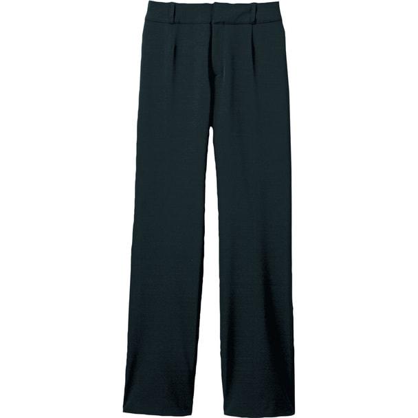 ヒップハングパンツ(ポケット付)WP871-8(17号)(ブラック) 1