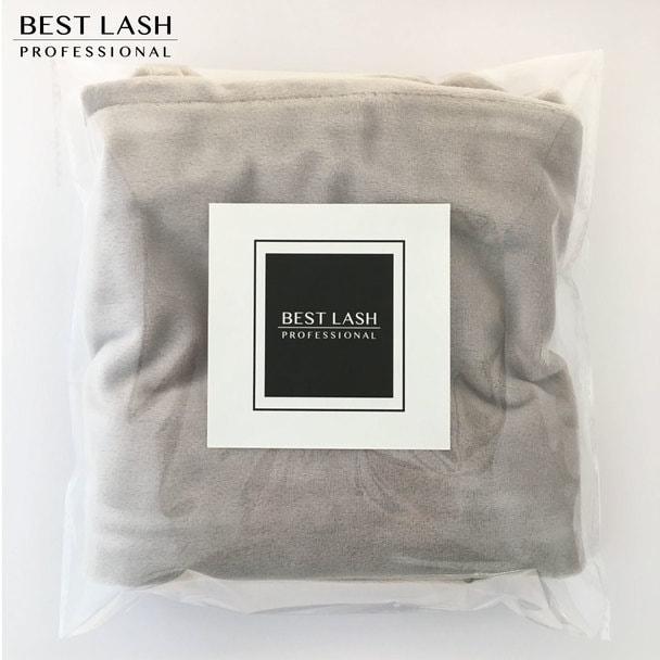 【BEST LASH】ピローカバー(ライトグレイ)