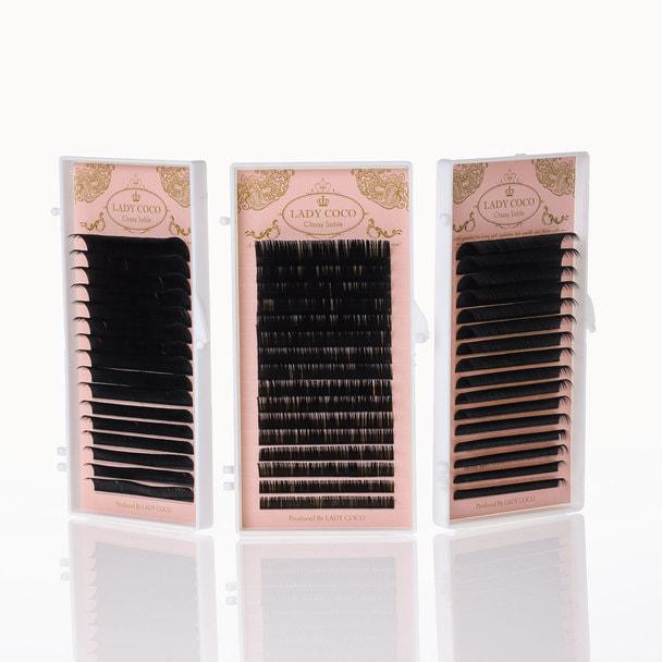 MIX JCカール[太さ0.12][長さ8~15mm]クラッシーセーブル