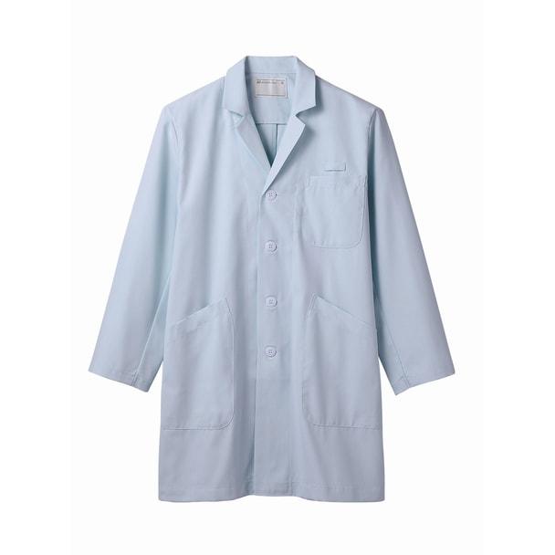 TTドクターコート(メンズ・長袖)71-683(S)(サックス) 1