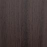 丸型ハンドミラー 木目DB(日本製) ダークブラウン 2