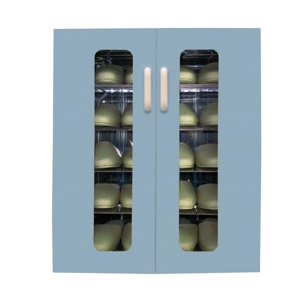 殺菌スリッパ保管庫 UVクリーン エクセレント 10足 (ブルー)
