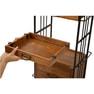 【シャビーシック】アンティーク木製ワゴン DIAN(ディアン)Type BOX アンティークブラウン 6