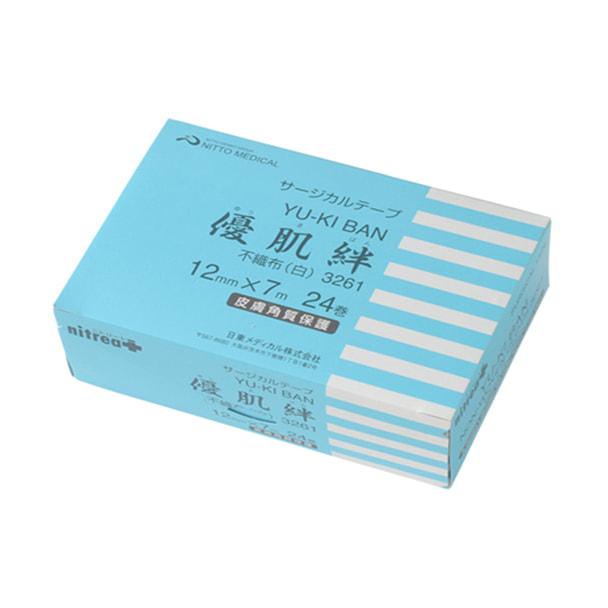 優肌絆不織布(白) 24巻 (612-200531) 1