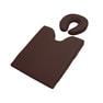 フェイス&バストマットセット(薄型タイプ)ダークブラウン 1
