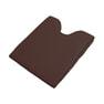 フェイス&バストマットセット(薄型タイプ)ダークブラウン 3