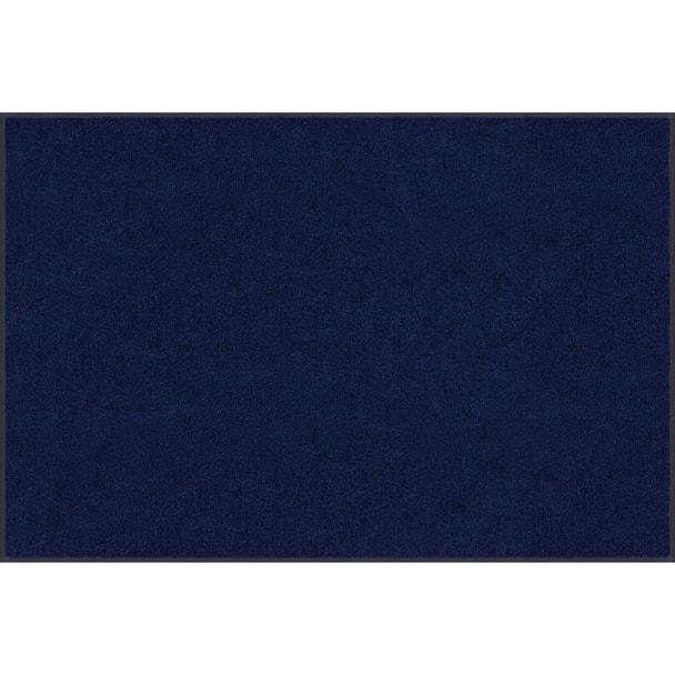 【玄関マット】スタンダードマットS ネイビーブルー(50×75cm) 1