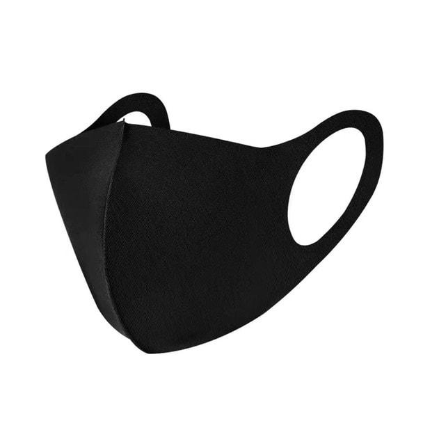 接触冷感マスク 5枚セット【ブラック】