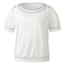 半袖プルオーバー EST534(S)(ホワイト) 1