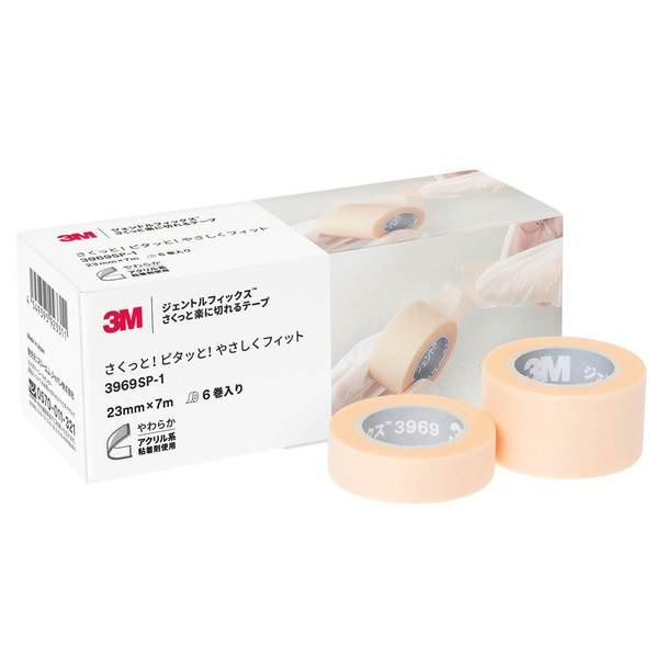 ジェントルフィックス さくっと楽に切れるテープ(12.5mm×7m)3巻 1
