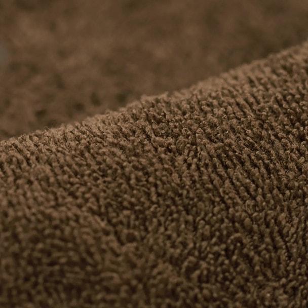 やわらかマイクロファイバーバスタオル(超速乾&吸水)70×140cm(ダークブラウン) 1